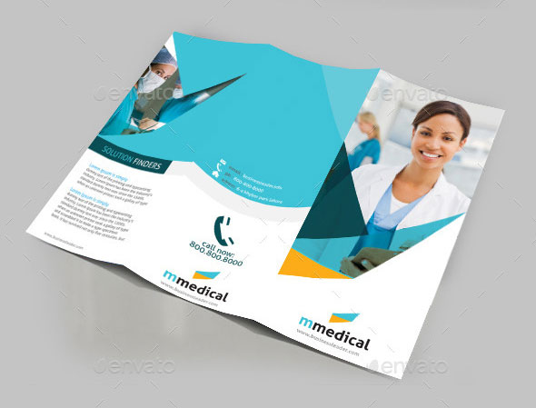 3-Fold brochure Design · KZ Creative Services · Online Store Powered