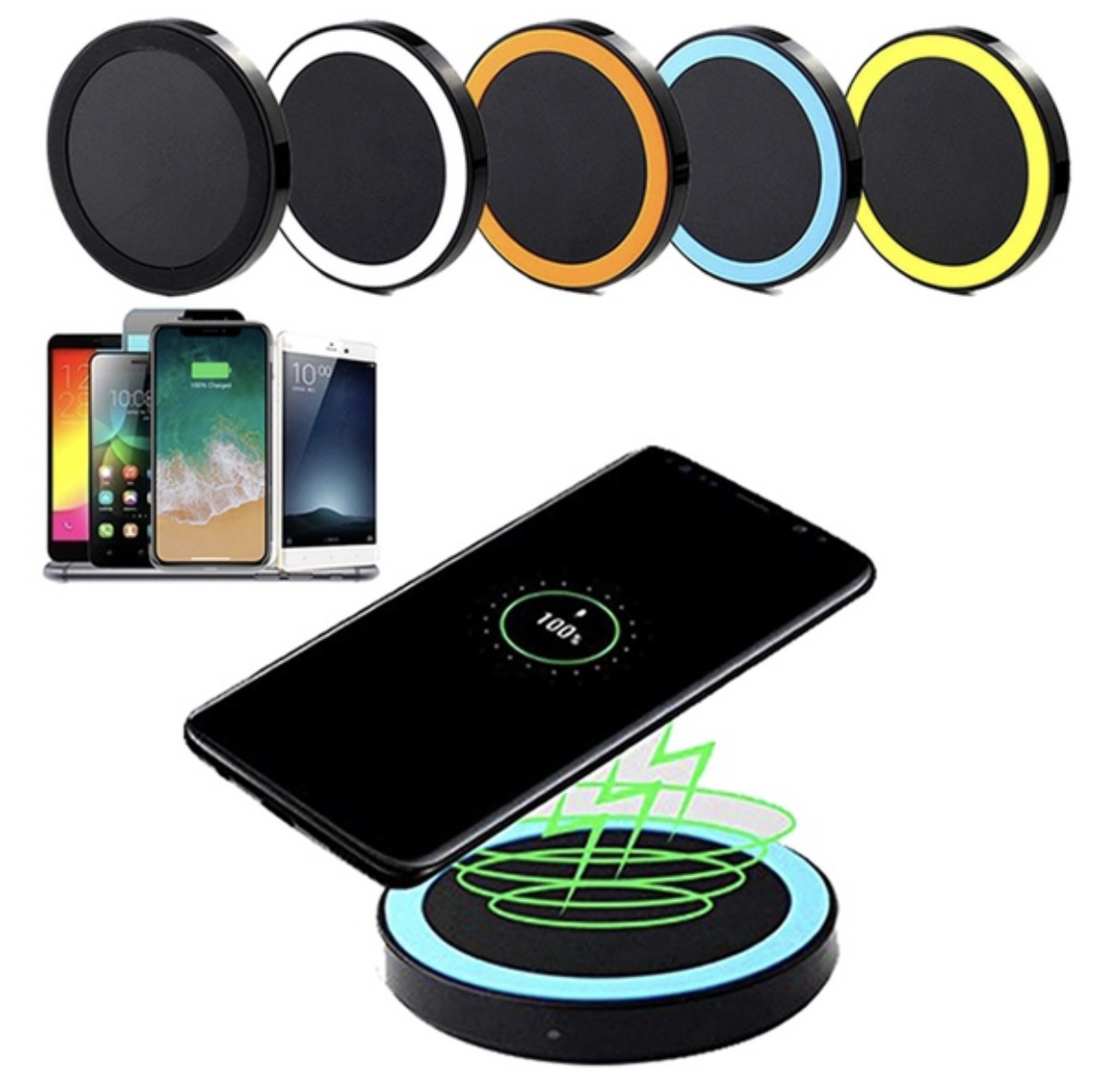 Handy Qi Wireless Charger Qi For Iphone Samsung More