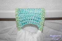 Wiggleworms Corner | Crocheted Towel holder - Set of two ...