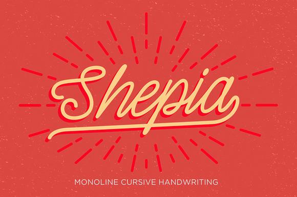 Shepia Script Font Download
