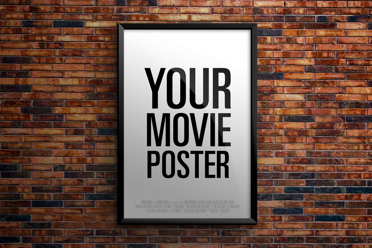 Theatrical Movie Poster Mockup Product Mockups On