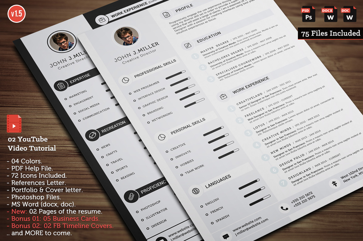 best resumes templates download