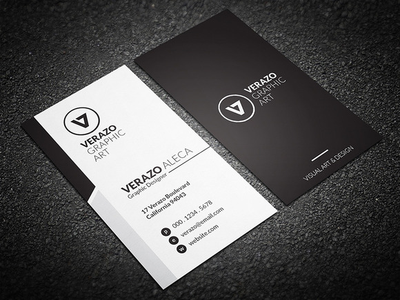 V2 3d Wallpaper Tiles Simple Amp Clean Business Card Business Card Templates On