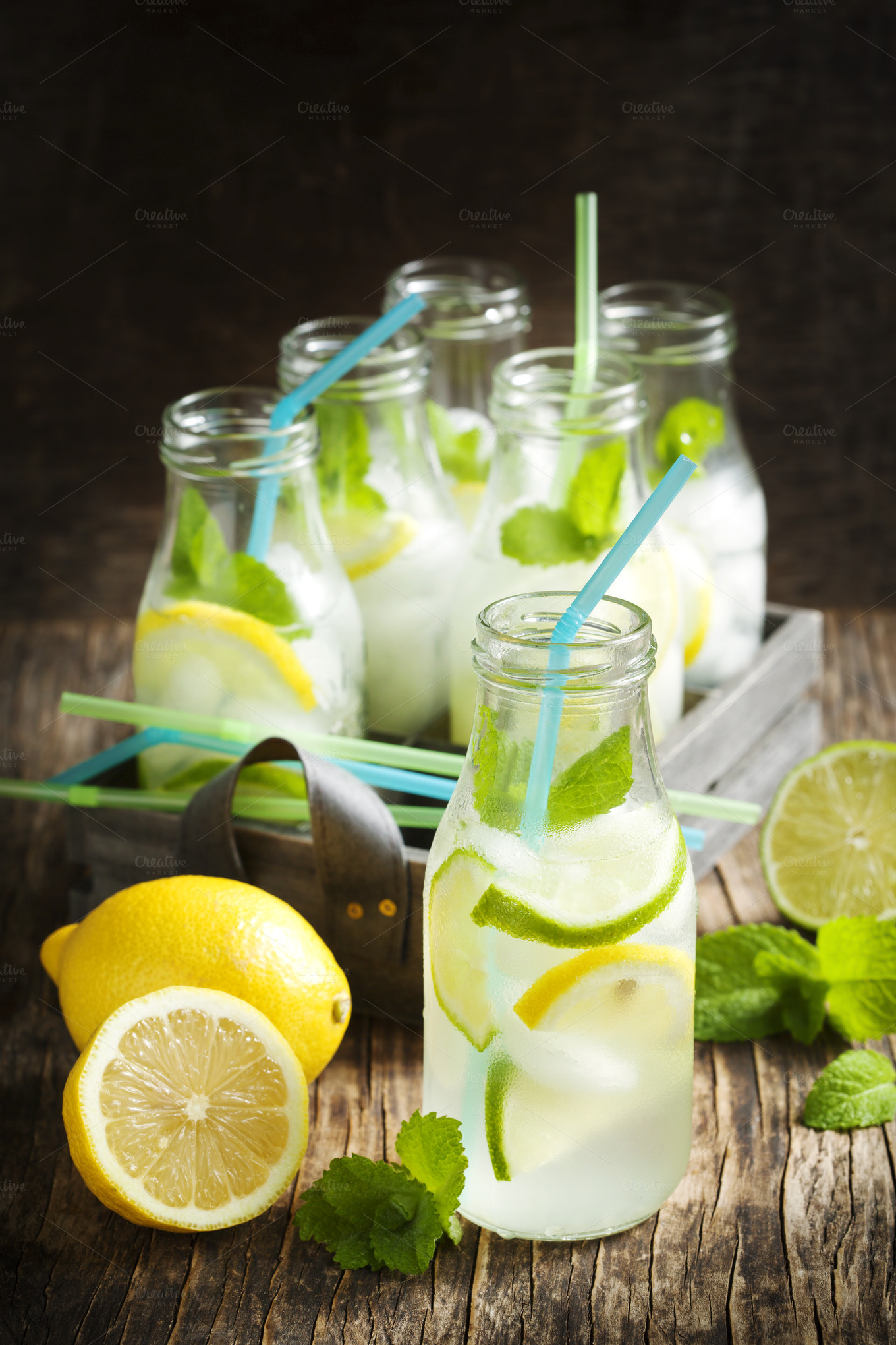 Wordpress Blog Template Lemonade In Glass Bottle Food Drink Photos On Creative