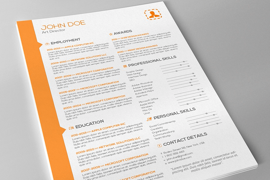 entertainment resume cover letter template
