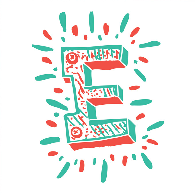 ABC Design Project Creative Letters for Charity ~ Creative Market Blog