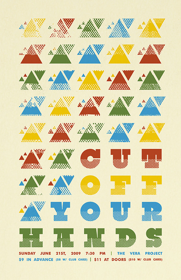 15 Cool Posters That Use Patterns Effectively ~ Creative Market Blog