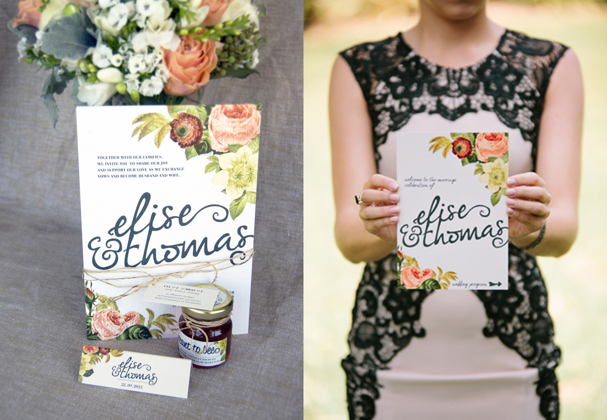 Diy Wedding Invitations With Photo Diy Wedding Invitations Floral Creative Market Blog