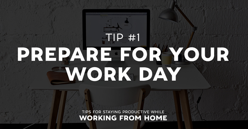 Tips for Staying Productive While Working From Home ~ Creative - work tips