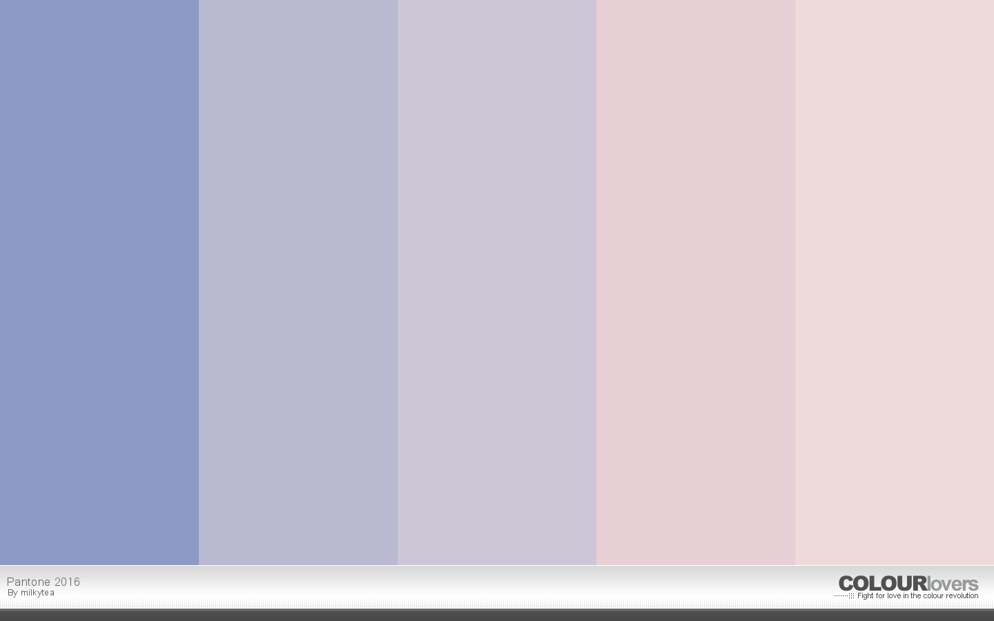 Pantone Color 2016 20 Pink Blue Color Palettes To Try This Month March 2016