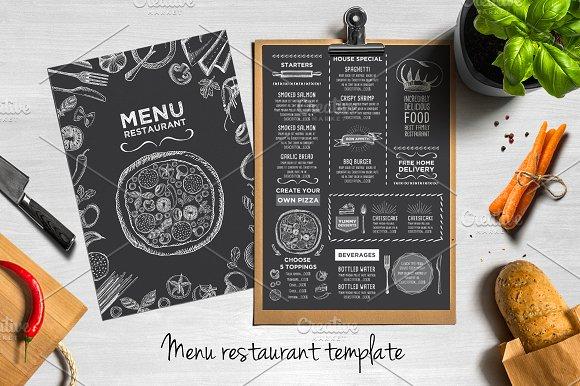 50 Restaurant Menu Designs That Look Better Than Food ~ Creative - how to make a restaurant menu on microsoft word