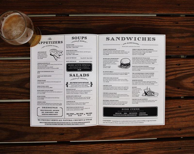 50 Restaurant Menu Designs That Look Better Than Food ~ Creative
