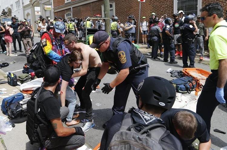Caos y pánico se vivieron en lugar del incidente. (Foto Prensa Libre: AP)