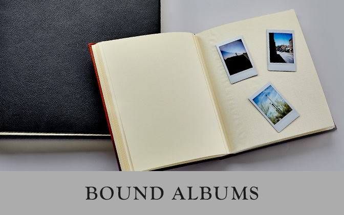 Leather Photo Albums and Frames Graphic Image