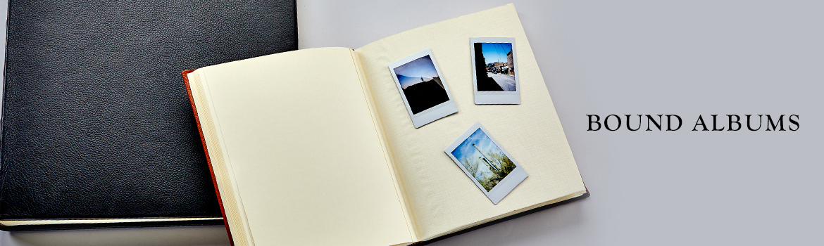 Graphic Image Leather Bound Albums