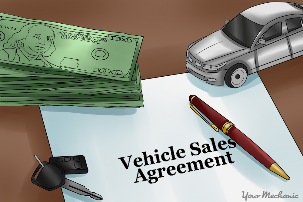 How to Write a Contract For Selling Your Car YourMechanic Advice - Car Sales Contracts