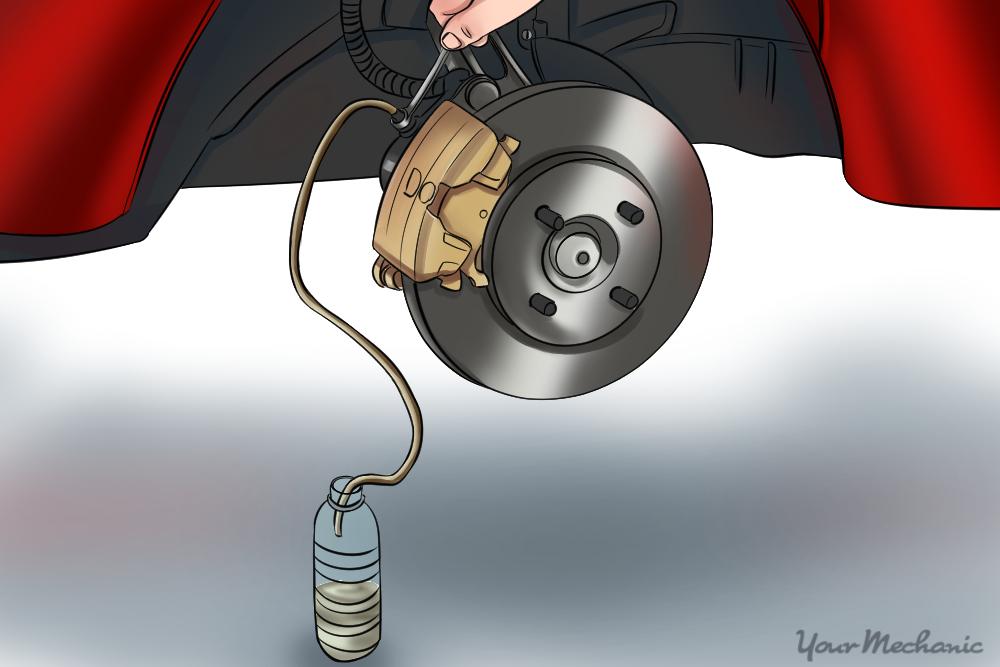 How to Bleed Car Brakes YourMechanic Advice
