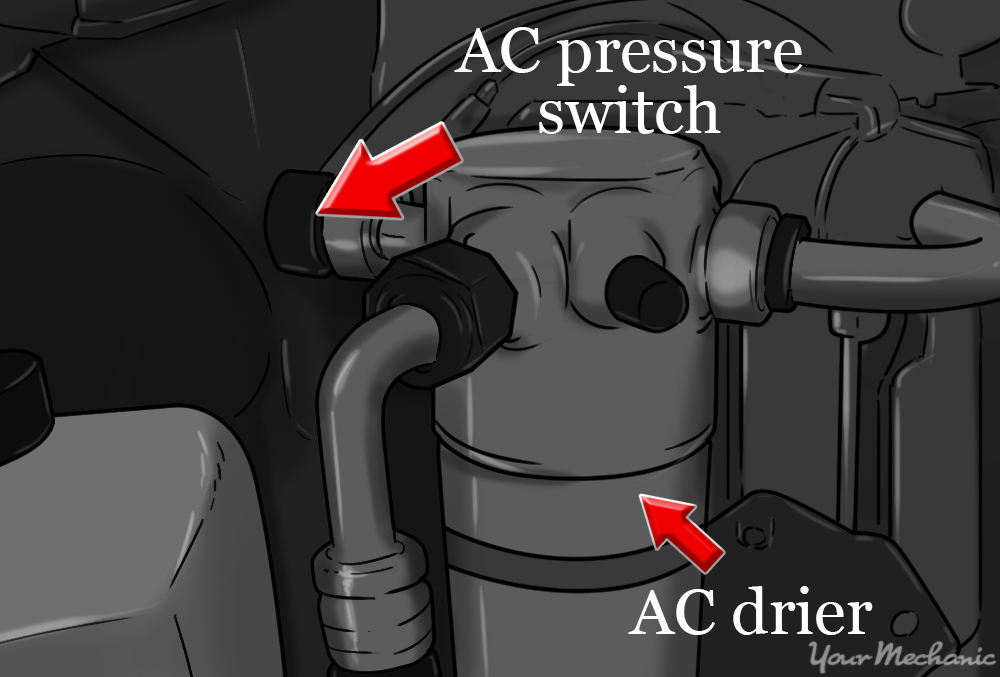 How to Replace an AC Pressure Switch YourMechanic Advice