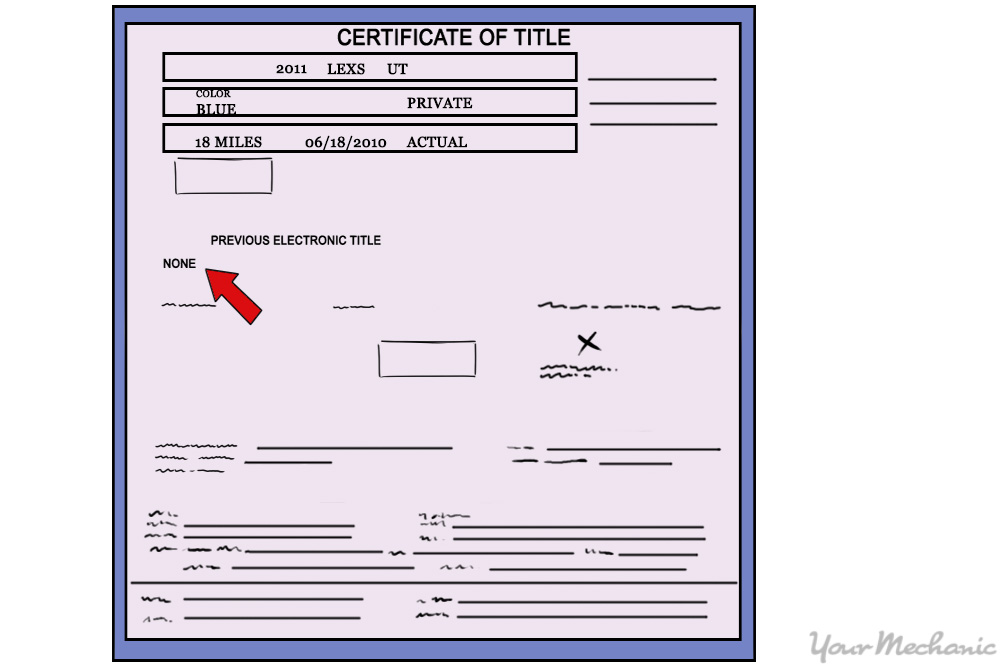 How to Buy a Car With a Lien on It YourMechanic Advice - i owe you certificate