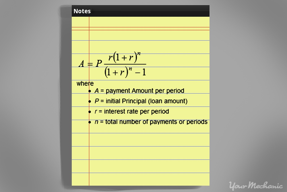 formula for total interest paid