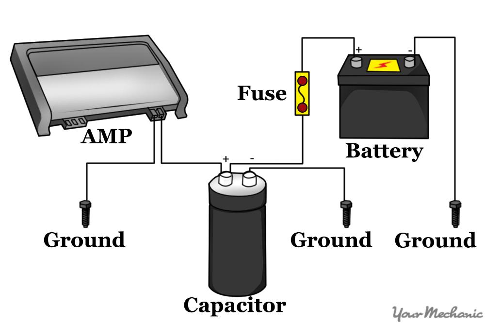 Audio Capacitor Wiring - Wiring Data Diagram