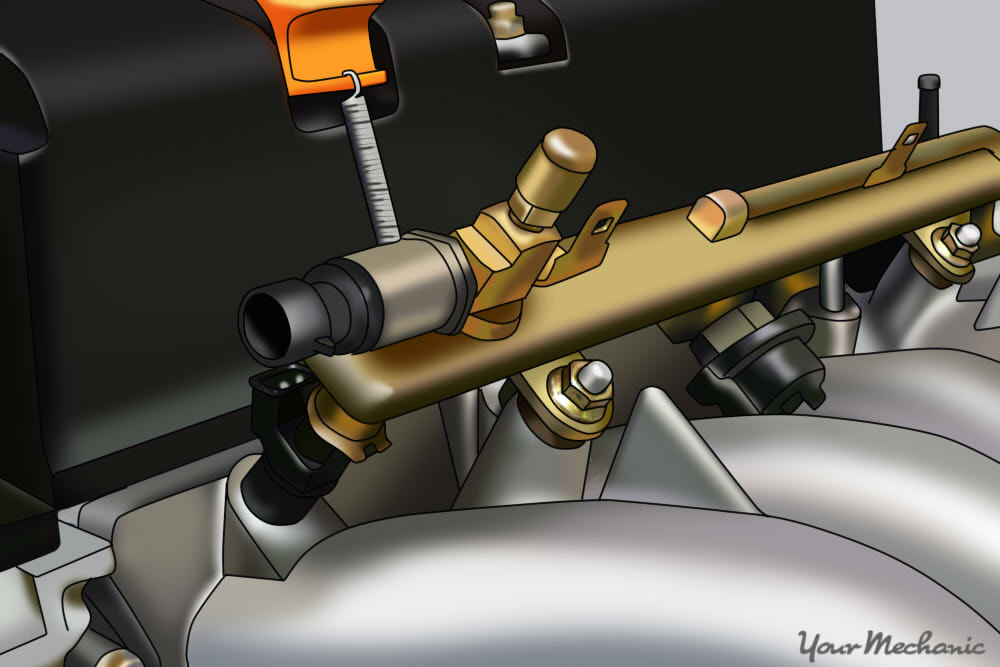 How To Replace A Fuel Rail Sensor Yourmechanic Advice