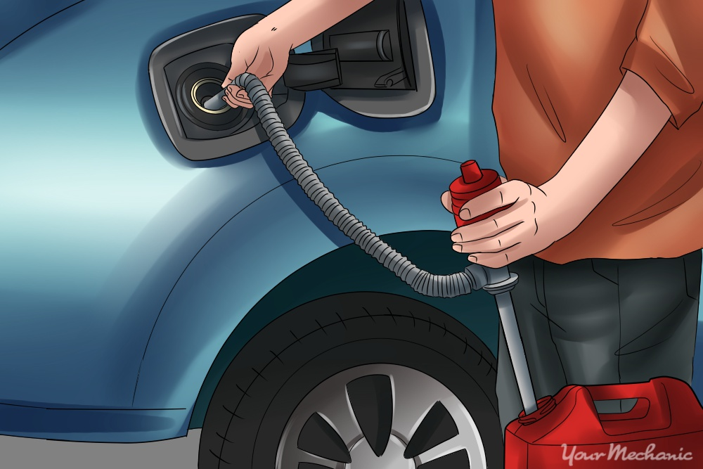 How to Drain Your Fuel Tank YourMechanic Advice