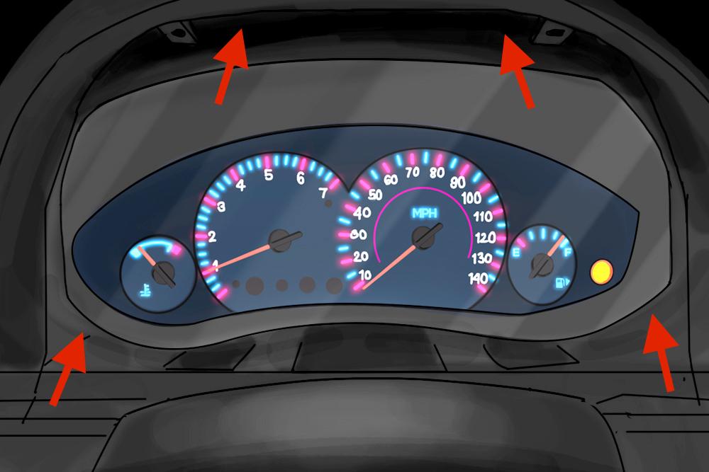 How to Repair Dashboard Lights YourMechanic Advice