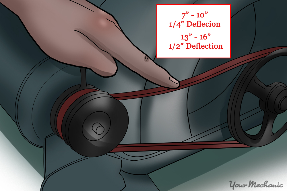 How to Tighten a Drive Belt YourMechanic Advice