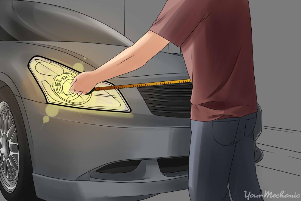 How to Adjust Your Headlights YourMechanic Advice