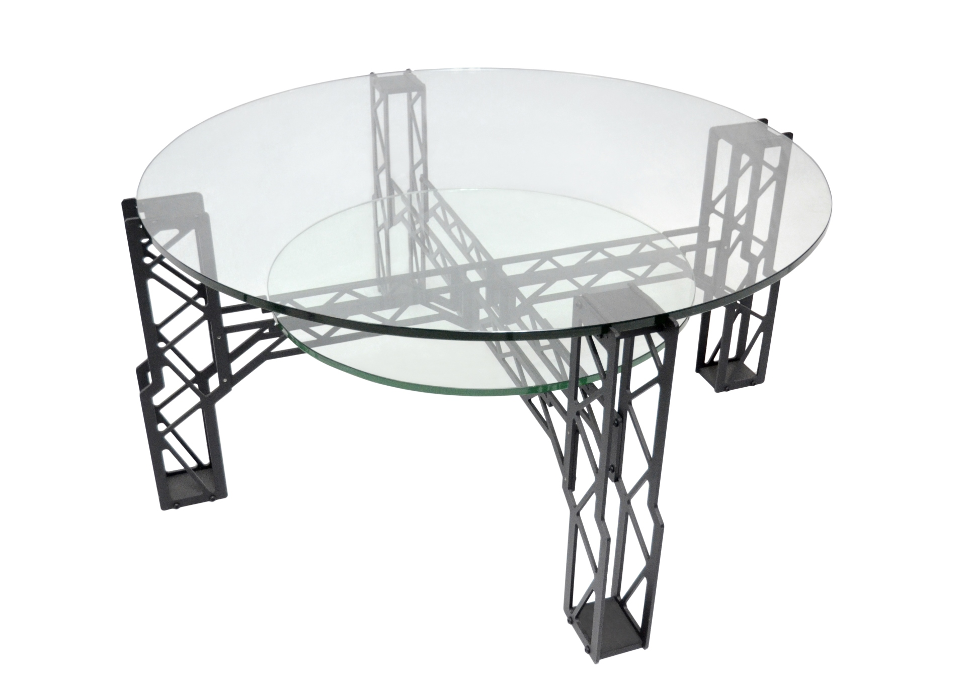 Freedom Glass Coffee Table Coffee Table Montie Gear