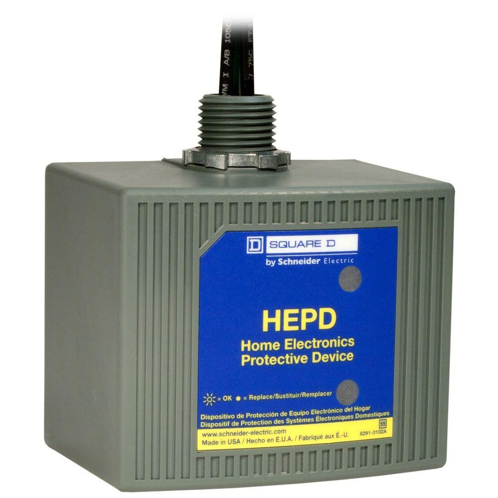 In Home Electronics Square D Hepd80 Home Electronics Protective Device Hepd