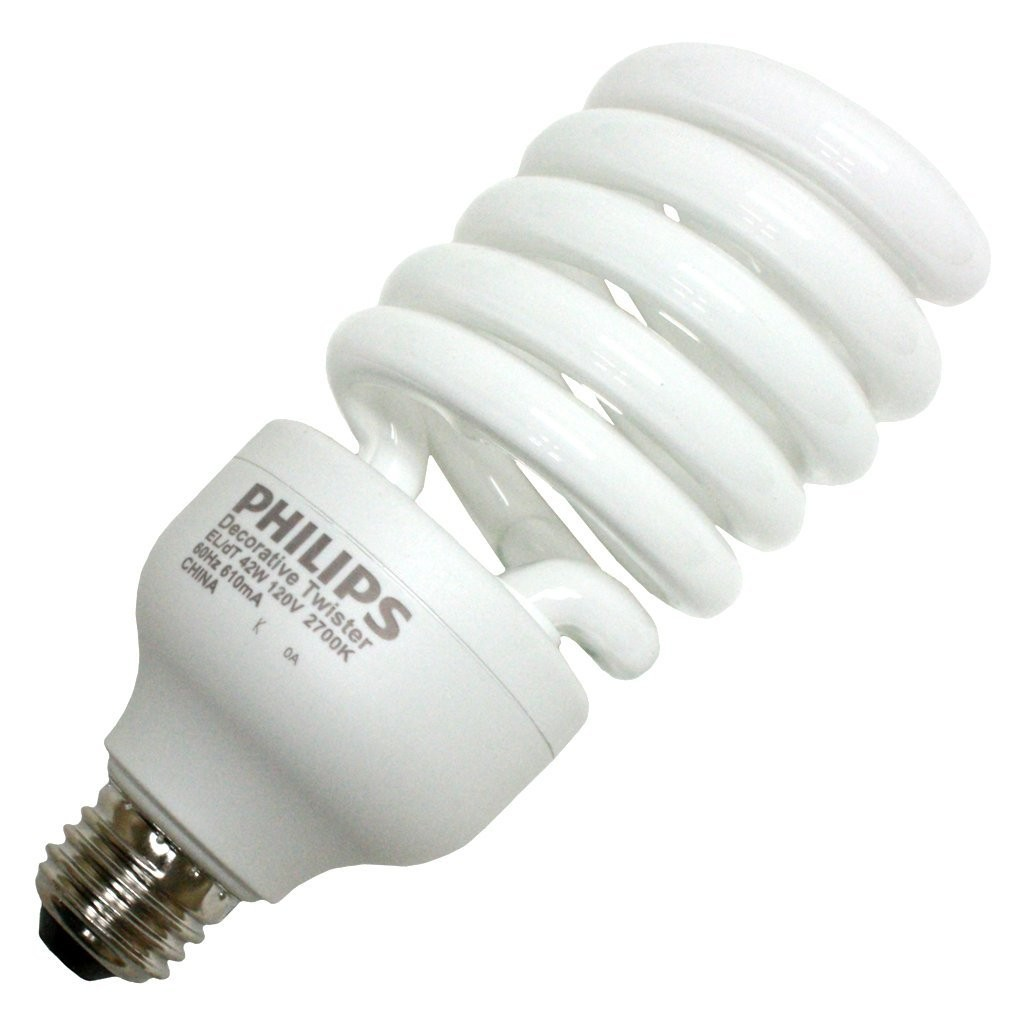 Bulb Philips Philips Bd El Dt 20 Light Bulb 20w Standard Base Compact Fluorescent Soft White