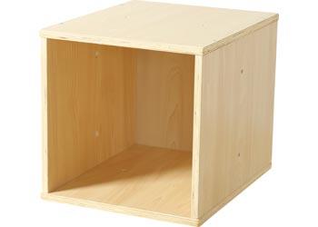 Natural Spaces Wooden Storage Cube Mta Catalogue