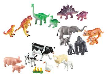 Jumbo Soft Animal Families 20 Pieces Mta Catalogue