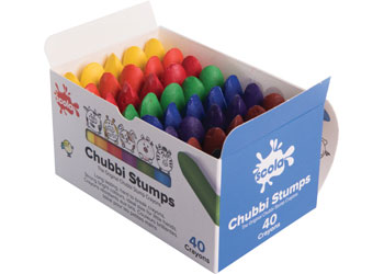 Chubbi Stumps Crayons Box Of 40 Mta Catalogue