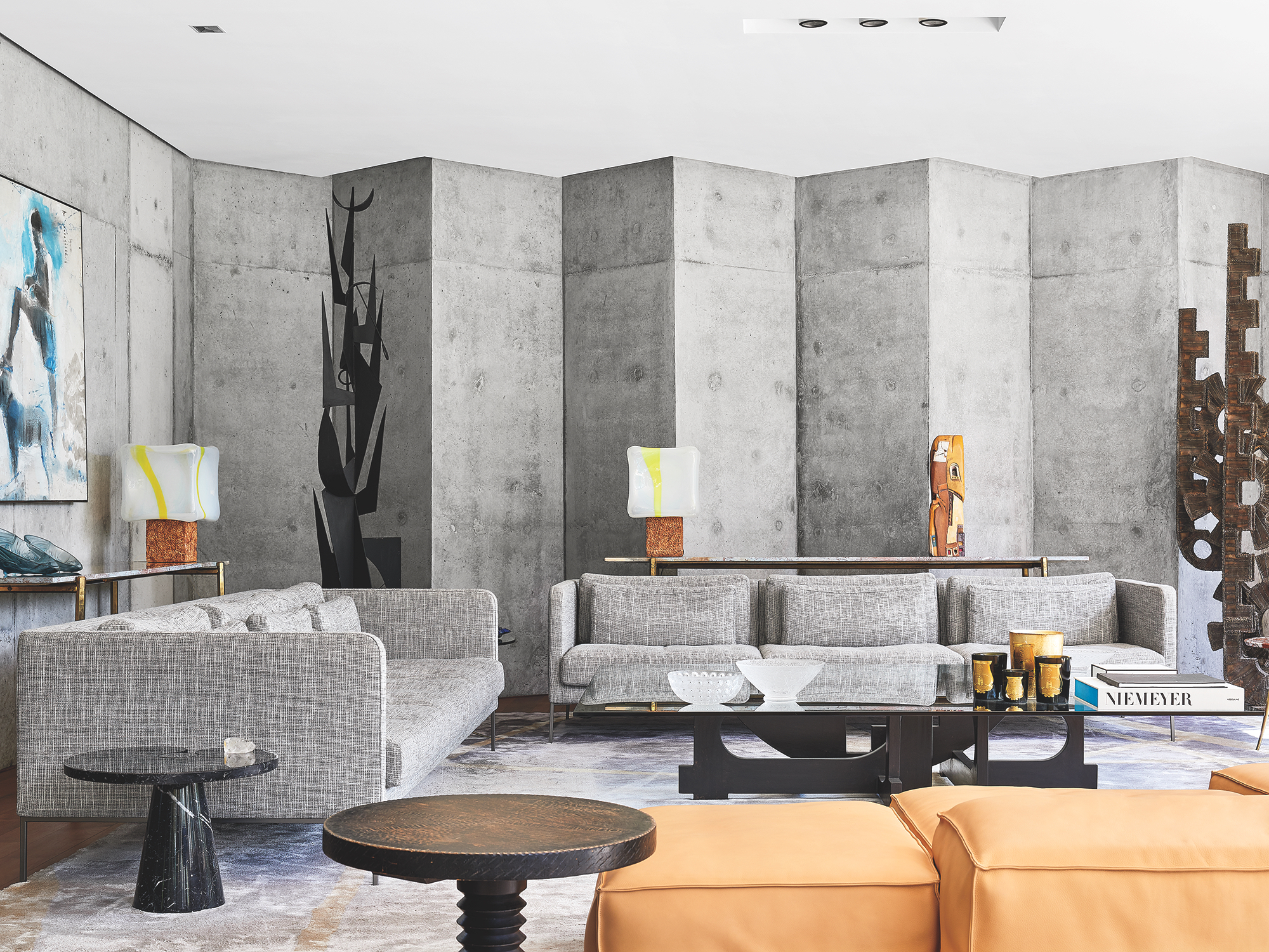 Beton Brut Interieur Maison Mohammed Kabbaj Builds A Brutalist Villa On The Site Of His