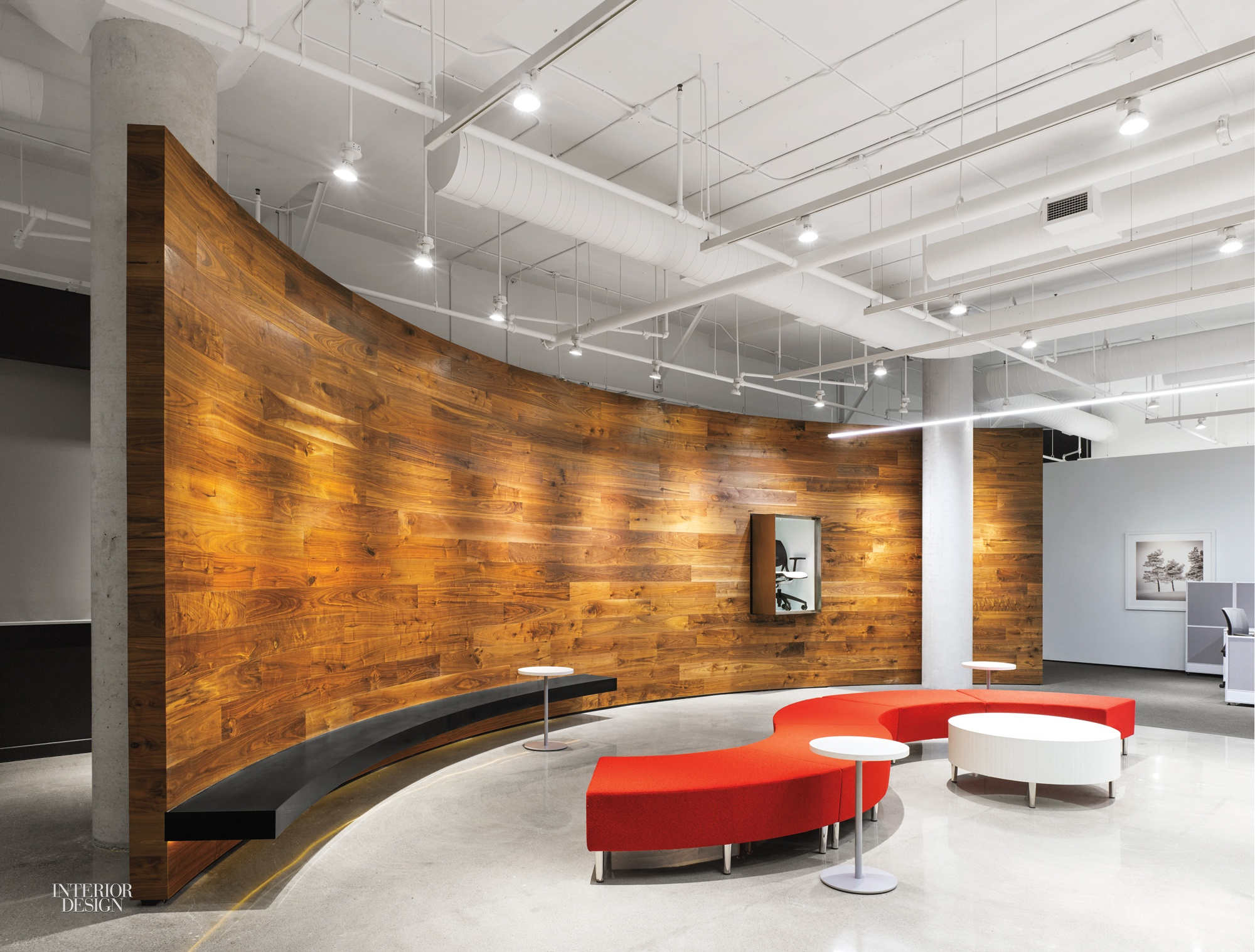Furniture Toronto Com Global Furniture Group S Toronto Hq Showcases Sleek Vignettes