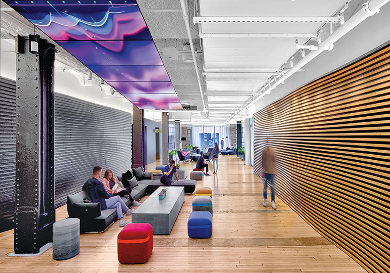 Google39s Nyc Office By Interior Architects Has Eye