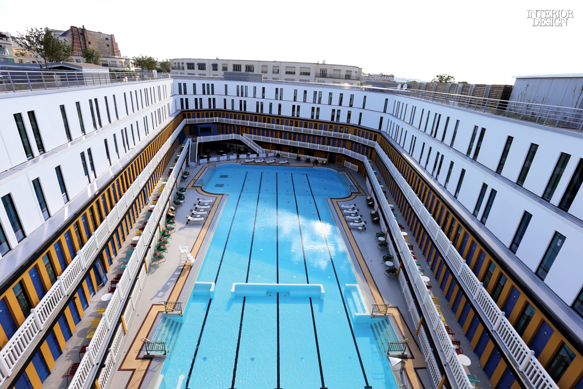 Hotel Molitor Piscine Making A Splash Reinventing A Swimming Pool As The Hôtel Molitor