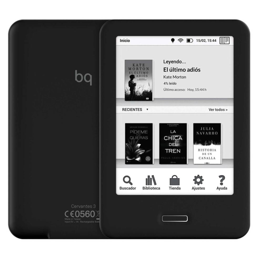 Libro Electronico Black Friday Lectores De Ebooks Con Iluminación Integrada Gadgets Cinco Días