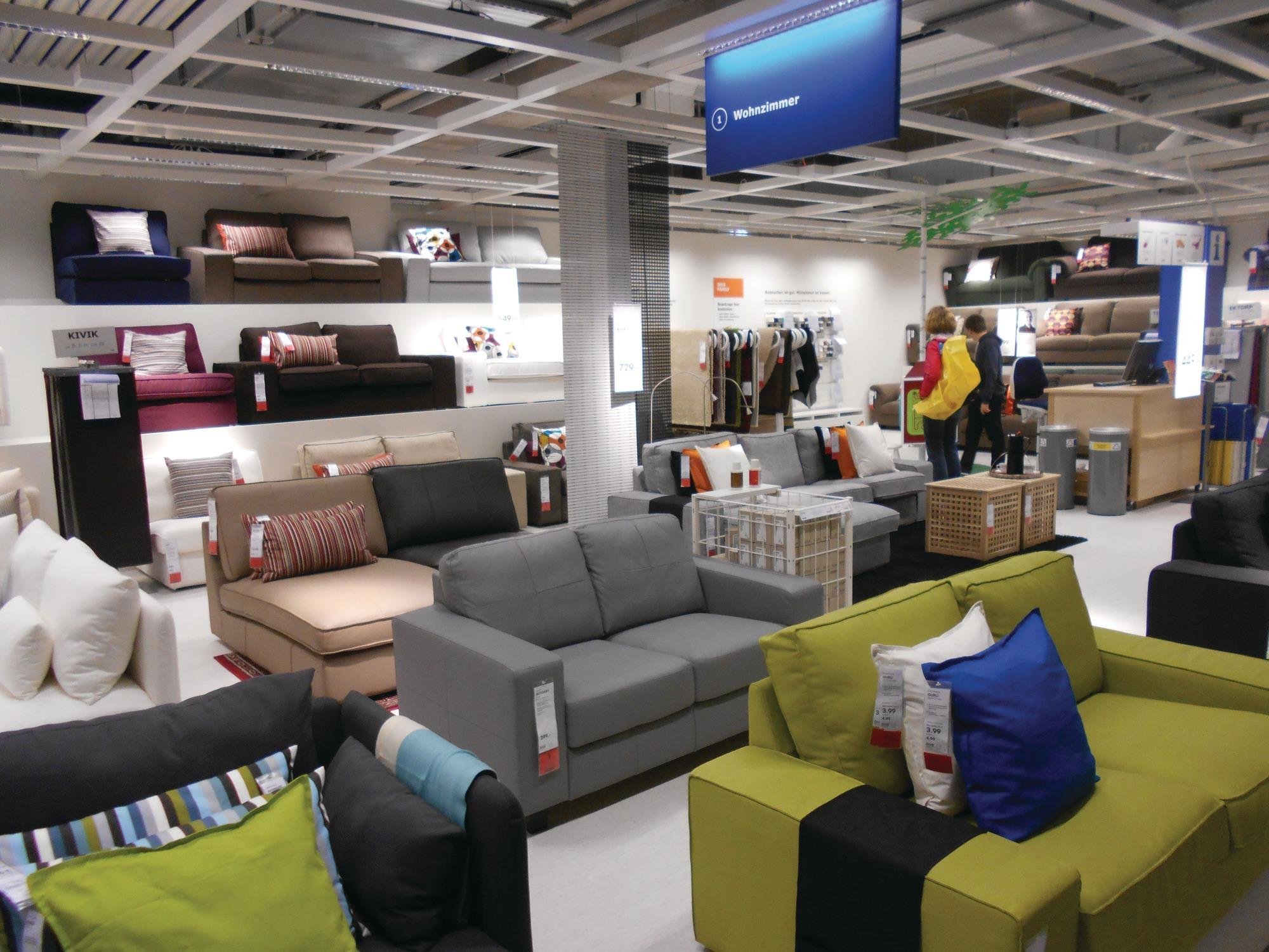 Laura Ashley Wohnzimmer Story Gallery Ikea Downsizes With Experimental Store Format