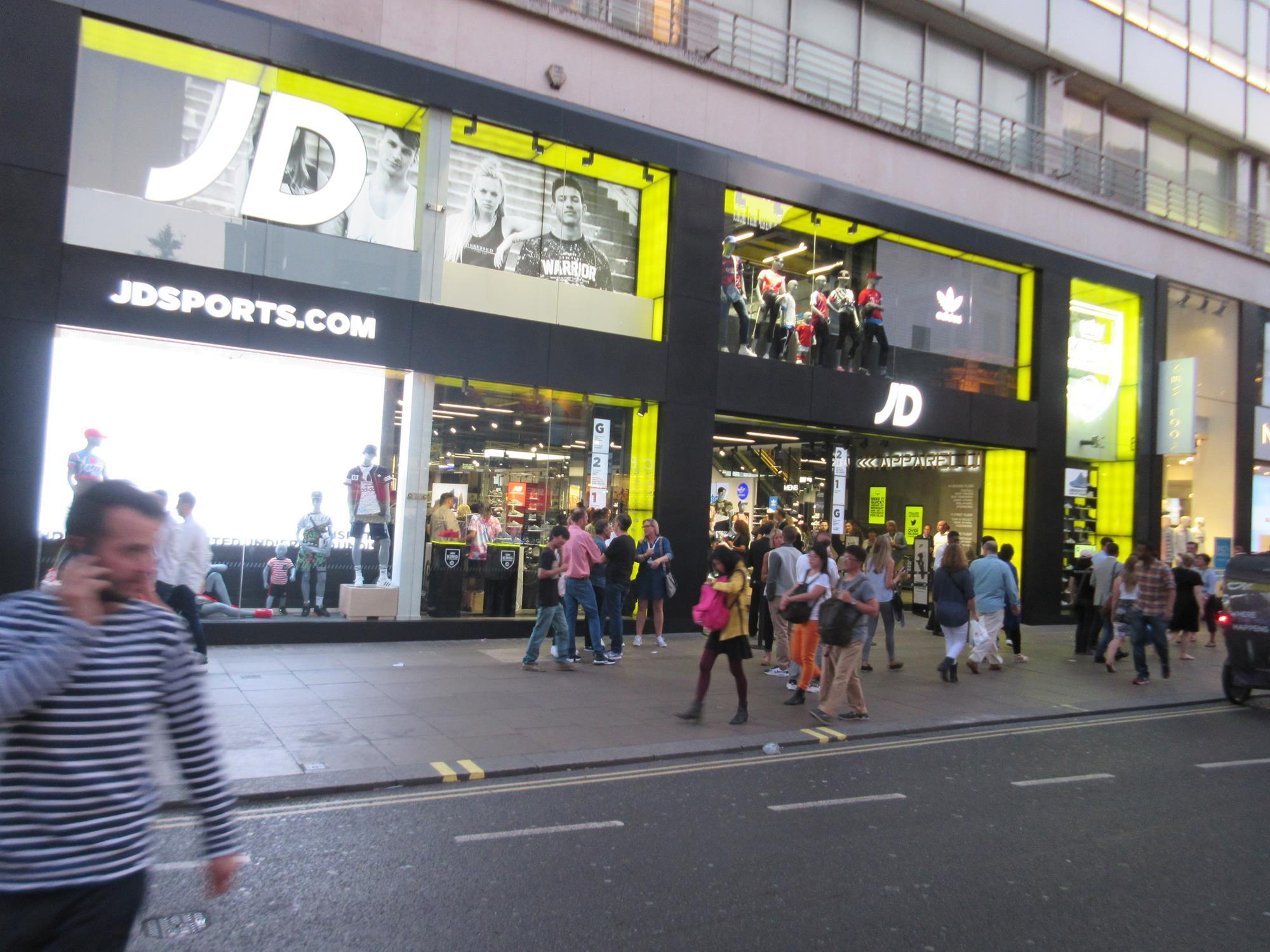 Jd Sports Jd Sports To Open Gym And Store Dual Fascia News Retail Week
