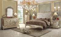Pearl Victorian Design Bedroom Set From Homey Design ...