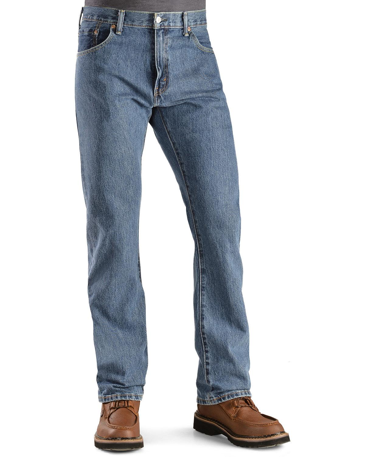 Jeans Levis Levis Men's Levi's & 517 Jeans Prewashed Boot Cut - 00517 ...