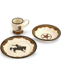 Western dinnerware set - 12 pieces - Sheplers