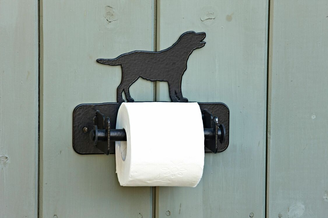 Wall Mounted Labrador Toilet Roll Holder Only 2599