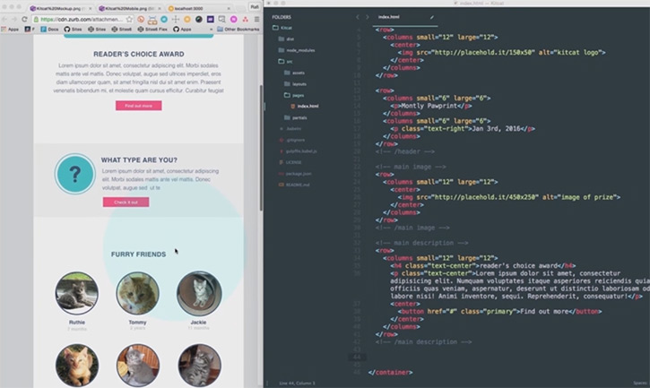 Ultimate Guide To Foundation For Emails - zurb email templates
