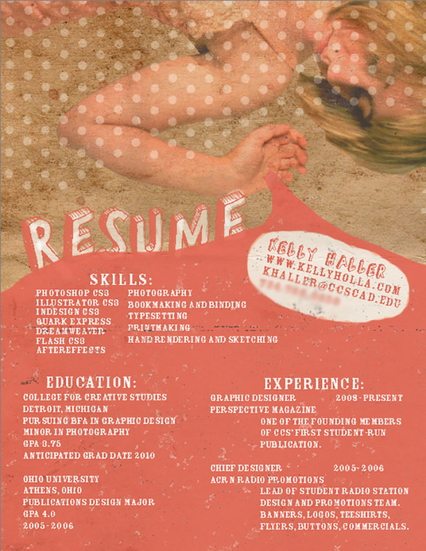 39 Fantastically Creative Resume and CV Examples