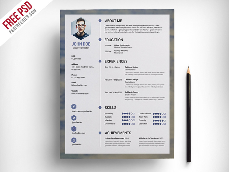 Best Free Resume Templates For Designers - what is the best template for a resume